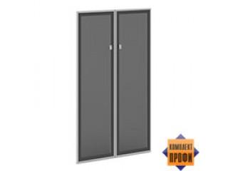 V-024 Двери стекло тон. алюм. профиль (810х20х1406)