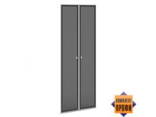 V-034 Двери стекло тон. алюм. профиль (810х20х2110)