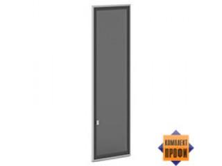 V-025 пр/л Двери стекло тон. алюм. профиль (405х20х1406)