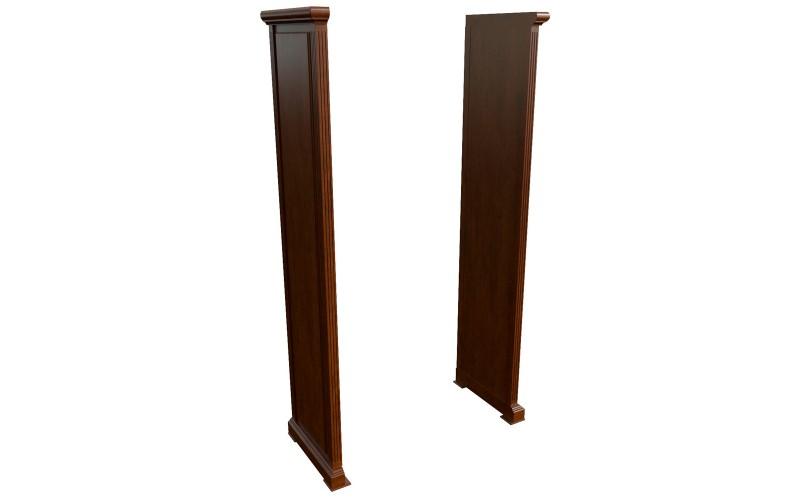 29580 Комплект боковин для шкафа (140x550x2120)
