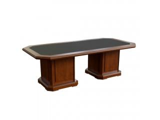 29704 Стол для переговоров с кож. вставкой (2400x1200x760)