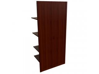 22552 Наполнение 2-х створ. шкафа с дер.дверьми и вешалкой (850x420x1880)