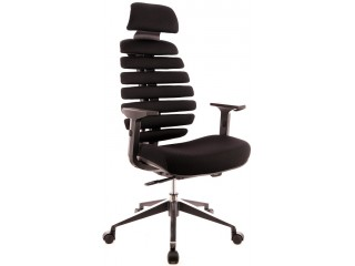 Кресло руководителя Ergo Black (ткань)