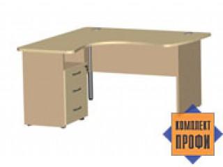 1445 Стол офисный эргономичный (1400х1400х744 мм)