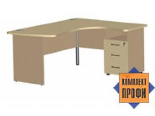 1451 Стол офисный эргономичный (1600х1400х744 мм)